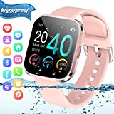 Smart Watch,Fitness Watch Activity Tracker with Heart Rate Blood Pressure Monitor IP67 Waterproof Bluetooth Smartwatch...