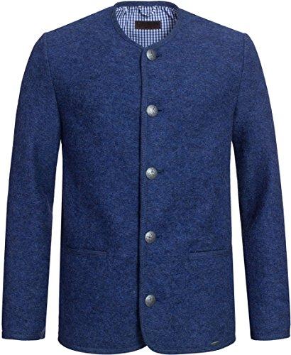 GIESSWEIN Walkjacke Jack - Walk Jacke aus 100% Wolle, Herrenjacke, Herbst Winter Jacke für Männer, Trachtenjanker, Sakko aus Wolle, Janker