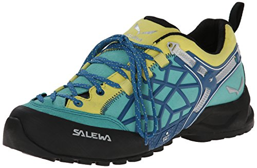 Salewa Damen WS Wildfire PRO Turnschuhe, Azul (Bright Acqua/Reef 3524), 38 EU