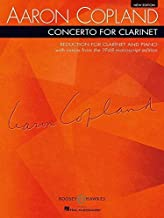 Concerto for Clarinet: Reduction for Clarinet and Piano New Edition