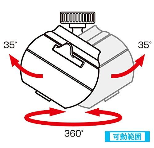 クリタック浄水蛇口ロカシャワーCP首振りタイプRSCPSW-3061約幅6x奥行き8x高さ7cm