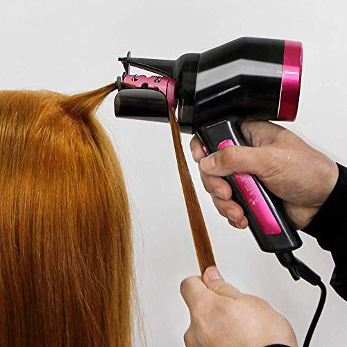 Curling iron Hair Styling Curling Iron Rotating Hair Curler Machine Magic Automatic Hair Curler,4 MXY (Color : 4)