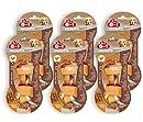 8in1 Delights BBQ Kauknochen S, gesunder fein geräucherter Kausnack für kleine Hunde, 6er Pack (6 x 35g)