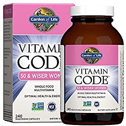 Top 5 and the best multivitamin for women over 50 buyer 39 s guide for Garden of life once daily women s probiotic