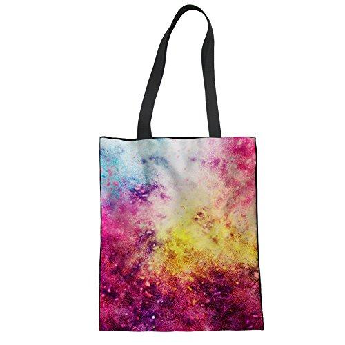 Damentaschen Schultertasche Boho mit Fach für Urlaub Badetasche Einkaufstasche