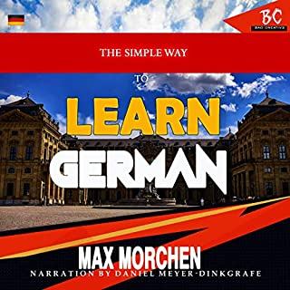 The Simple Way to Learn German audiobook cover art