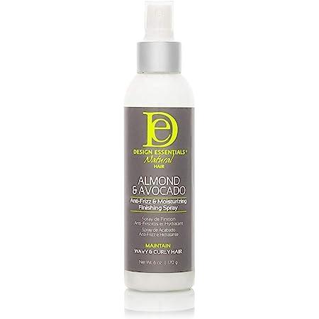 Design Essentials Almond & Avocado Anti-frizz & Moisturizing Finishing Spray, 6 Ounce