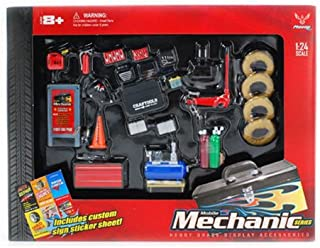 MECHANIC ACCESSORIES SET - HOBBY GEAR G 1/24 SCALE MODEL TRAIN & CAR ACCESSORIES 18415 (japan import) by Phoenix toys