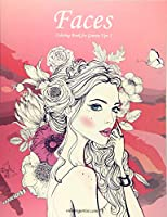 Faces: Coloring Book for Grown-ups