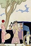 Kunst für Alle Impresión artística/Póster: Georges Barbier Envy 1914' - Impresión, Foto, póster artístico, 55x80 cm