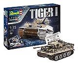 Revell-75 Years Tiger I Maqueta Tanque de Guerra, 14+ Años, Multicolor, 24,10 cm de Largo (05790)