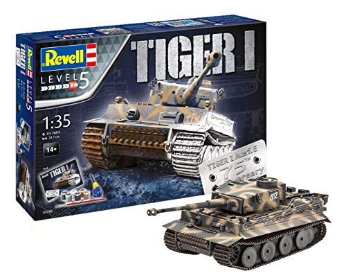 Revell-75 Years Tiger I Maqueta Tanque...