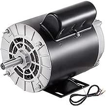 VEVOR Air Compressor Motor, 1.5HP 3450rpm Electric Compressor Motor 115V 230V 1 Phase 56 Frame Electric AC Motor for Air Compressor