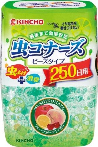 虫コナーズ ビーズタイプ 250日用 フルーツガーデンの香り (虫よけ・消臭・芳香)