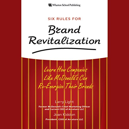 Six Rules for Brand Revitalization audiobook cover art
