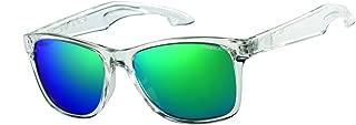 Polarized Wayfarer Sunglasses Gloss Clear Crystal 54 mm