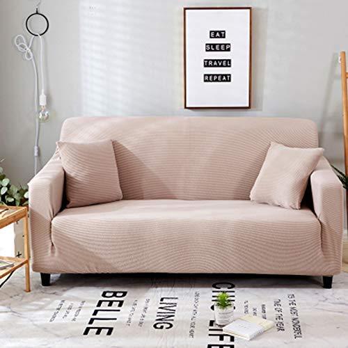 GTYT Funda para sofá Funda para sofá de 2 plazas, Tela elástica de fácil Estiramiento Protector para sofá Funda Antideslizante Funda para sofá a Prueba de Polvo Protector para sofá tamaño 2 Plaza