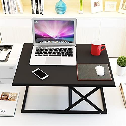 Maoviwq Mesa de pie ajustable de 23 pulgadas de altura ajustable de escritorio convertidor de escritorio portátil de pie