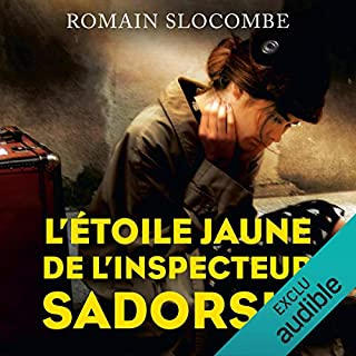 Page de couverture de L'étoile jaune de l'inspecteur Sadorski