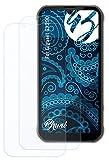 Bruni Schutzfolie kompatibel mit Gigaset GX290 Folie, glasklare Bildschirmschutzfolie (2X)