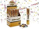 Dream Hogar Cañones de Confetti Pack 4 cañones Confetti 30cm