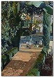 Patio de las Danzas, Alcázar, Sevilla DIY Pintura al óleo por números Kits Lienzo Regalo para adultos Niños Cumpleaños Boda nuevo alojamiento decoraciones