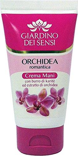 GIARDINO DEI SENSI Crema Mani Orchidea Romantica 75 Ml