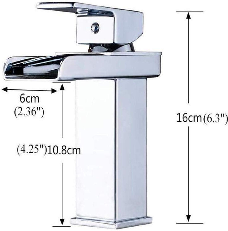 Taps Kitchen Sinkbasin Tap Vanity Sink Deck Mount Waterfall Bathroom Faucet Vanity Vessel Waterfall Basin Sinks