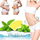 Fujimint Patch, Natural Herbal Abdomen Waist Patches Japanese Mint, Extra Strong Slimming Patches for Quick Slimming, Return Your Beautiful Figure (90 Pcs)