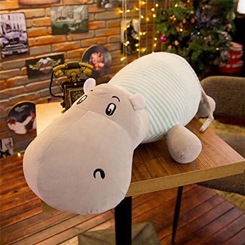 CPFYZH Große Größe Nilpferd Plüschtier Kissen Plüsch Tier Pad Plüschtier Spielzeug Mädchen Geschenk