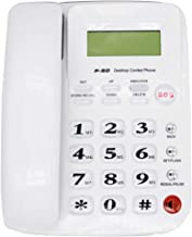 $29 » MuYuTec Desktop Landline Phone for Home Corded Phone with Caller ID Handsfree Speakerphone with Amplified Ringer for Elder...