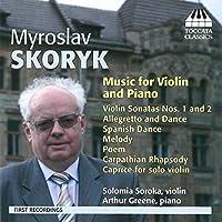 ミロスラフ・スコリク:ヴァイオリンとピアノのための作品集