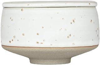 OYOY Living Design Hagi Sugar Bowl sockerburk/sockerskål av porslin med lock - diameter 8 cm diskmaskinssäker