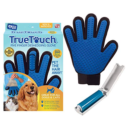 True Touch Premium Five Finger Deshedding Glove
