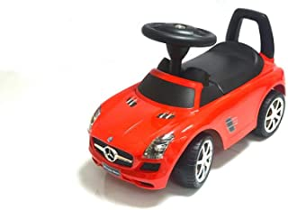 Mstc Licensed Mercedes Amg Ride On Push Cart, Red