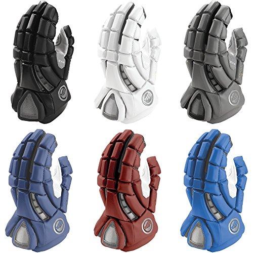 Maverik Lacrosse Men's Rome RX3 Glove, Black, Large