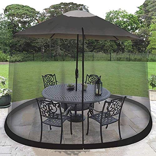 REWD Portable Garden Mosquito Cove Net with Zipper Doorols for Indoor and Outdoor, Camping - Excluding Umbrella and Foundation (Color : 300 * 230cm)