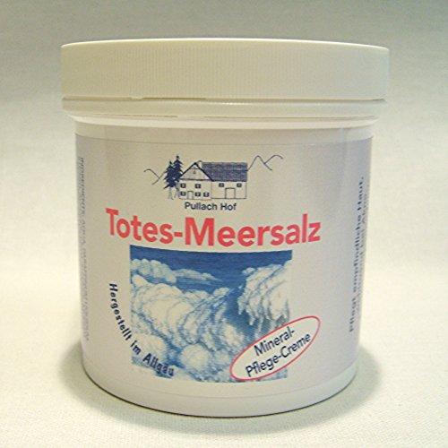 Totes Meer Salz Creme, 250ml Allgäuer Herstellung, Mineral Pflege Creme