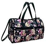 Betty Boop Large Duffel Bag, Durable Microfiber (Multi)