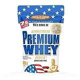 Weider Premium Whey Proteinpulver, Low Carb Proteinshakes mit Whey Protein Isolat, Schoko-Nougat,...