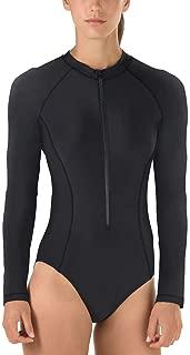 Womens Long Sleeve One Piece Swimsuit