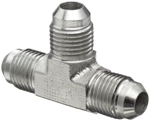 Brennan 2603-04-04-04-FG Forged Steel JIC Flared Tube Fitting, Tee, 1/4