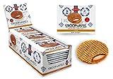 Daelmans Caramel Stroopwafels - 36 x 1 in una scatola (confezione singola) - Prova a scald...