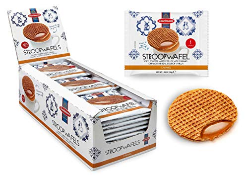 Stroopwafel (Sirupwaffel) Kekse Daelmans - 36 x 1 Stück (36 x 39 g), Karamell Stroop Waffeln
