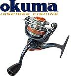 Okuma Aura-40 - Stationärrolle für Hecht, Zander & Forelle, Angelrolle zum Spinnfischen,...