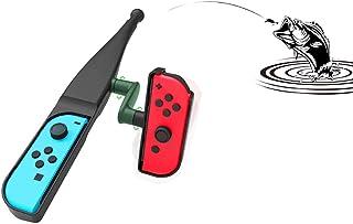 体感釣り竿 Nintendo Switch Joy-con用 釣竿 体感コントロールゲーム 釣りロッド ジョイスティック ゲームパッドツール 釣りスピリッツ対応