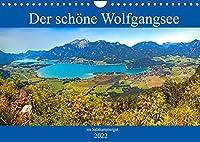 Der schoene Wolfgangsee im Salzkammergut (Wandkalender 2022 DIN A4 quer): Die schoensten Plaetze am Wolfgangsee (Monatskalender, 14 Seiten )