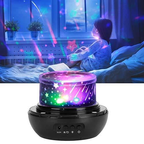 Lámpara de noche, lámpara de proyección 7,9 x 5 x 5 pulgadas para escritorio para regalos de cumpleaños para mesita de noche para dormitorio(black, Pisa Leaning Tower Type)
