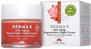 Derma-E Anti-Aging Anti-Wrinkle Regenerative Night Cream With Vitamin A and Antioxidant Blend 2oz - Age Defying New Improv...