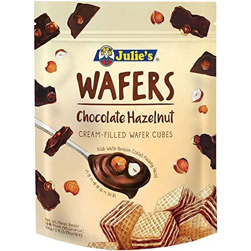 ジュリーズ キューブウエハースヘーゼルナッツチョコレート 150g 袋 [ 着色料不使用 チャック付き マレーシア産 ]